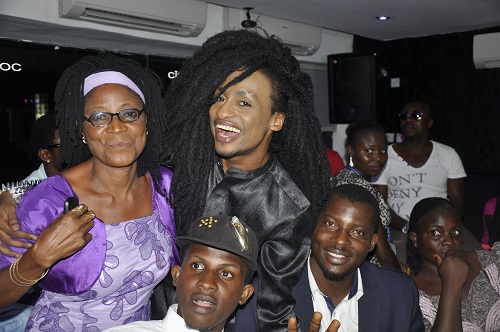 Denrele Edun, Award winner and family members