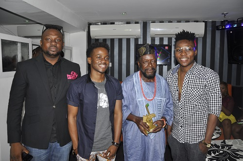 Alex Osho, Korede Bello, Chief Lari Williams (MFR), Reekadobanks