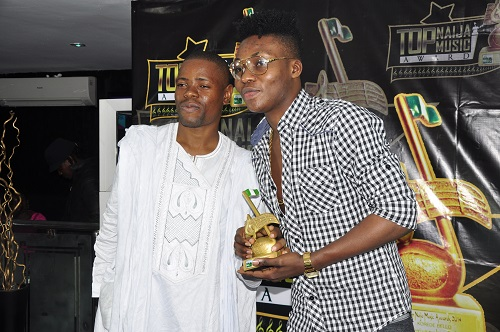 TopNaijaMusic CEO, Paul Oghoghorie and Reekado Banks