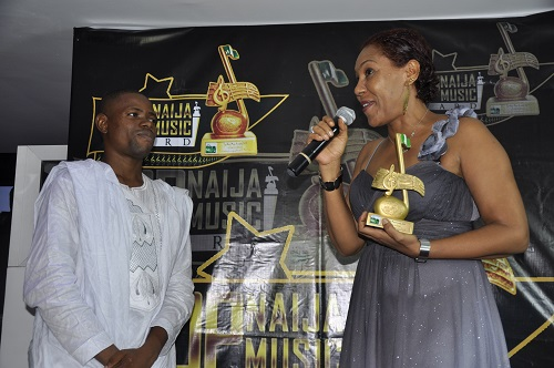 TopNaijaMusic CEO, Paul Oghoghorie and Nollywood Veteran, Shan George